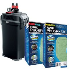 Fluval 07 External Canister Filter with Free Phosphate Media