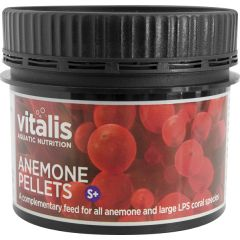 tub of Vitalis anemone pellets