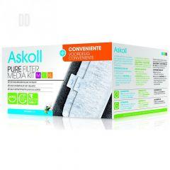 Askoll PURE Media Kit For Medium, Large & Extra Large Aquariums - Pack of 3 (+1)