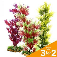 Classic Plastic Aquarium Plants (X Large)