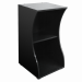 fluval flex 57 aquarium stand black with shelf