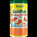 tub of tetra pond goldfish colour pellets.