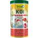tub of Koi premium food pellets